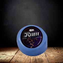 Rum and Raisin Cheddar Cheese Truckle (190g)
